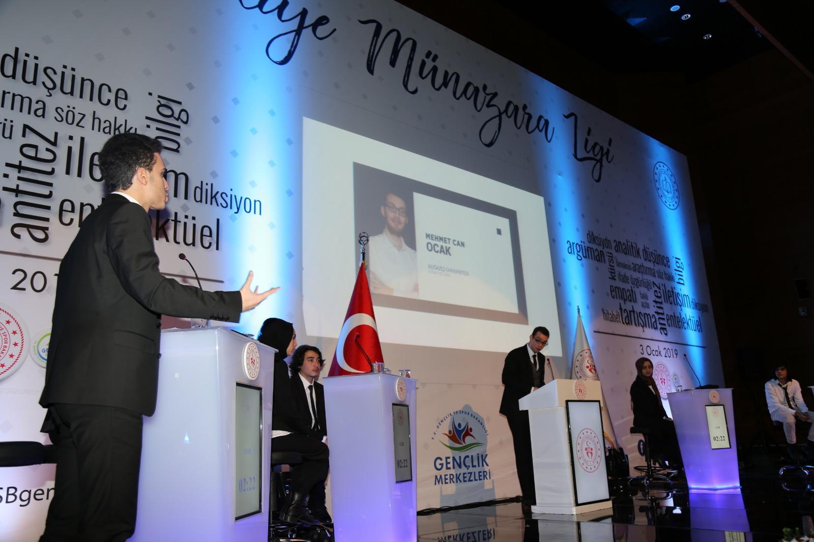 Gençlik ve Spor Bakanlığı Türkiye Münazara Ligi